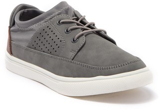 Steve Madden Volt Perforated Leather Sneaker (Little Kid & Big Kid)