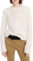J.Crew Women's Heritage 1988 Cable Knit Sweater