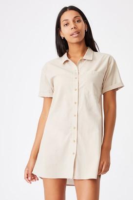 Cotton On Woven Lola Button Shirt Dress