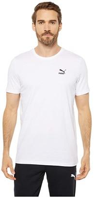 Puma Streetwear Graphic Tee White Black) Men's T Shirt