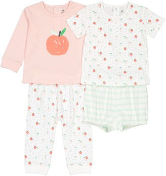 La Redoute Collections Pack of 2 Pyjamas in Cotton, 3 Months-4 Years