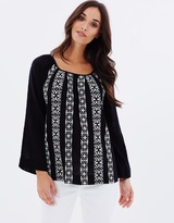 Jag Gypsy Embroidery Top