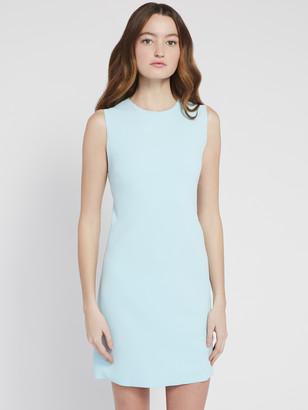 Alice + Olivia Coley Crew Neck A Line Mini Dress