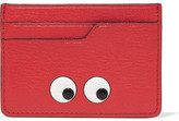 Anya Hindmarch Eyes Embossed Textured-leather Cardholder - one size