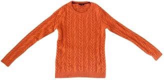 Tommy Hilfiger Orange Wool Knitwear for Women