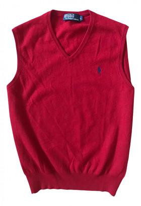 Polo Ralph Lauren Red Wool Knitwear & Sweatshirts