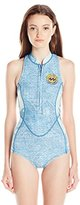 Billabong Women's Sleeveless Spring Suit One Piece Swimsuit