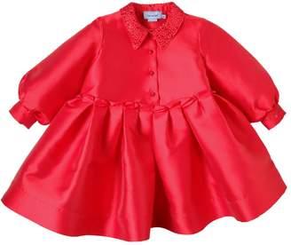 Mimisol Oversized Silk Blend Mikado Party Dress