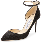 Jimmy Choo Lucy Leather High-Heel Pumps