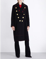 Burberry Military double-breasted wool and cashmere-blend coat