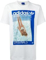 adidas girl print T-shirt - men - Cotton - L