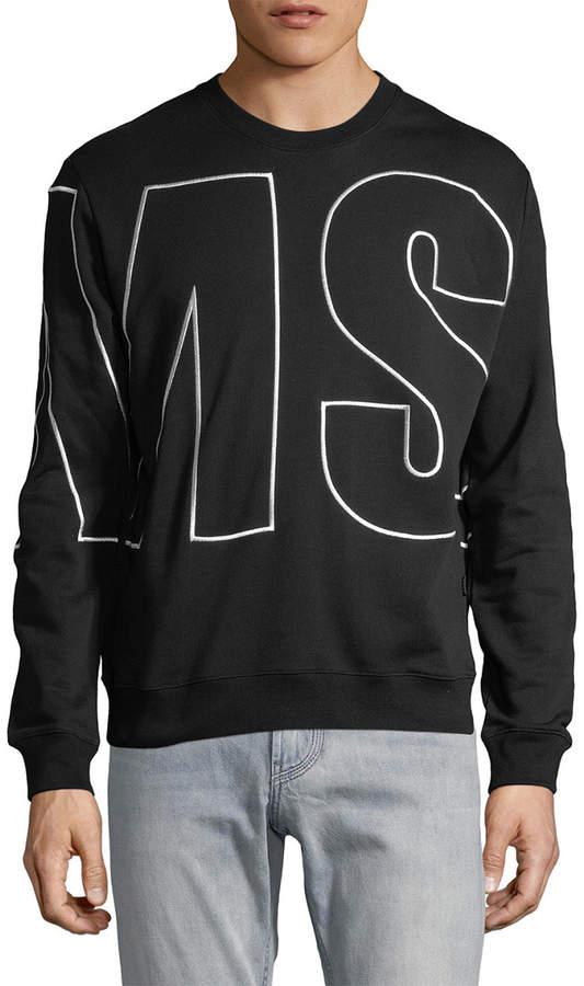 MSGM Enlarged Logo Sweatshirt