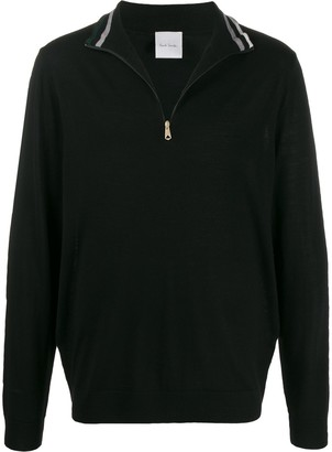 Paul Smith Zipped Funnel Neck Pullover
