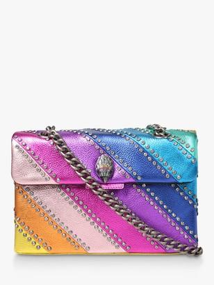 Kurt Geiger London Crystal Kensington Cross Body Handbag, Multi