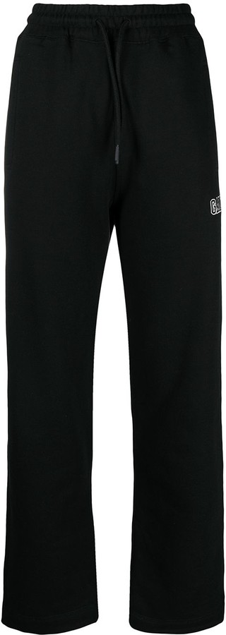 Thumbnail for your product : Ganni Logo-Embroidered Track Pants