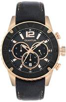 Quantum Power Tech Chronograph Quartz Men's Quartz Watch with Leather pwg359.81