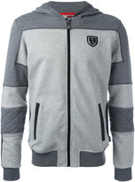 Plein Sport - Match hoodie - men - Cotton - M