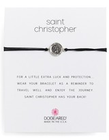 Dogeared Women's Saint Christopher Pull Bracelet