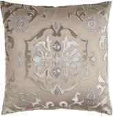 "Lili Alessandra 24""Sq. Floral ""Morocco"" Pillow"