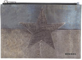 Diesel star pouch - men - Polyurethane - One Size