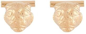VICTORIA STRIGINI Lion Head cufflinks