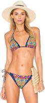 Nanette Lepore Carnaval Vixen Bikini Top