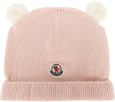 Moncler bear ear beanie hat