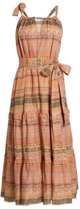 CHUFY Piura Geometric Midi Dress