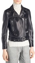 Acne Studios Women's Mock Leather Moto Jacket