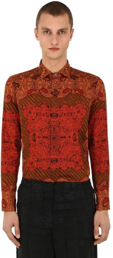 Etro African Printed Cotton Shirt
