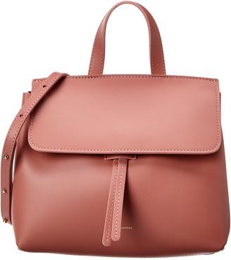 Mansur Gavriel Lady Mini Leather Shoulder Bag