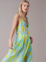Diane von Furstenberg Sleeveless Tied Cinch Waist Dress