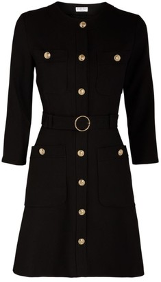 Claudie Pierlot Button-Up Dress