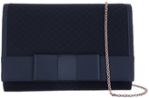 Accessorize Sienna Woven Bow Clutch Bag