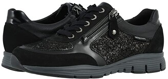 Mephisto Ylona (Black Bucksoft/CH/Magic Nero) Women's Shoes