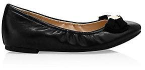 Cole Haan Women's Tali Soft Bow Leather Ballet Flats