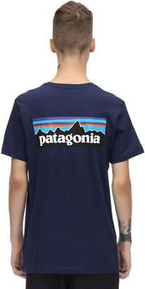 Patagonia P-6 Logo Printed Organic Cotton T-shirt