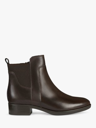 Geox Women's Felicity Leather Heeled Ankle Boots