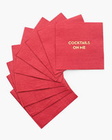 Chico's Cocktails on Me Napkin Set