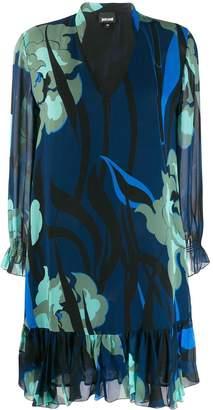 Just Cavalli printed shift dress