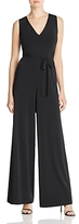 Lafayette 148 New York Wide Leg Belted Jumpsuit
