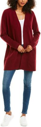 Revive Cashmere Raglan Wool & Cashmere-Blend Midi Cardigan