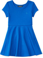 Ralph Lauren Ponte Fit-and-Flare Dress