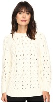 Vince Camuto Long Sleeve Crew Neck Chunky Cable Sweater