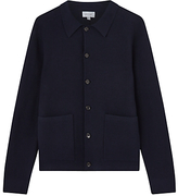 Jigsaw Cotton Milano Trucker Jacket, Navy