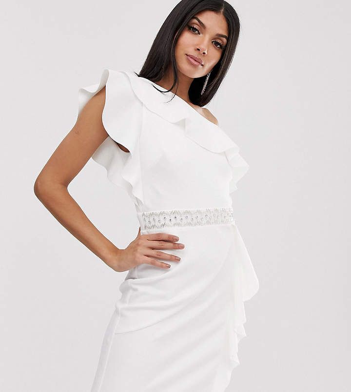 59f34fbb002 Ruffle Detail Cocktail Dresses - ShopStyle UK
