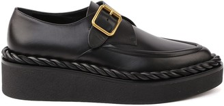 Valentino Black Leather Loafers