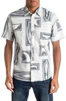 Quiksilver Men's Shapers Choice Regular Fit Sport Shirt