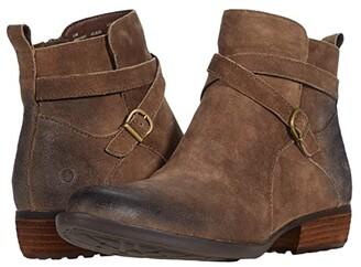 Børn Faywood (Black Distressed) Women's Boots