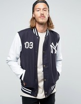 New Era Yankees Wool Bomber Jacket